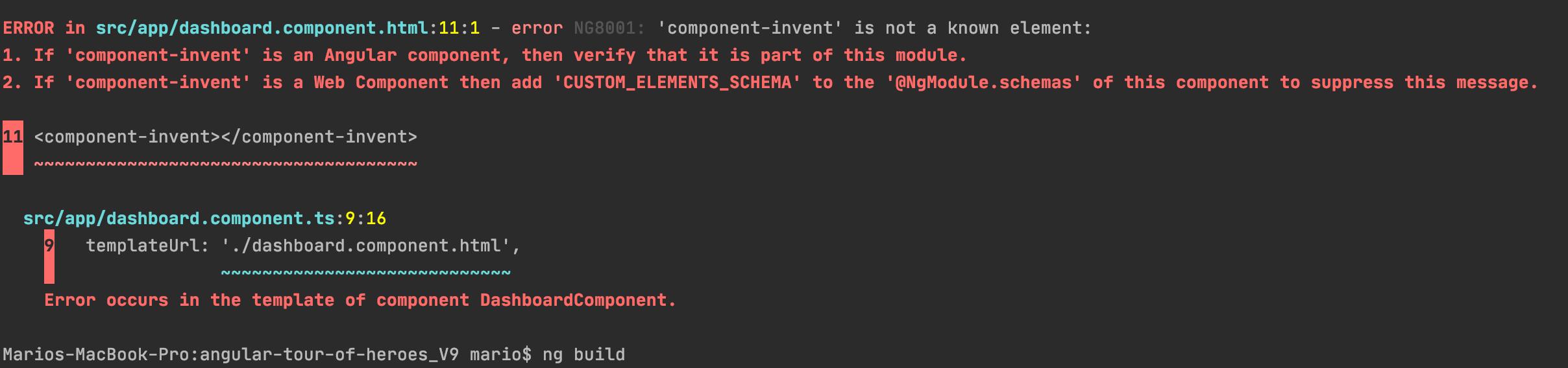 Compile_component_error