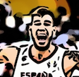 Cartoonized from a basket player for Andrei
