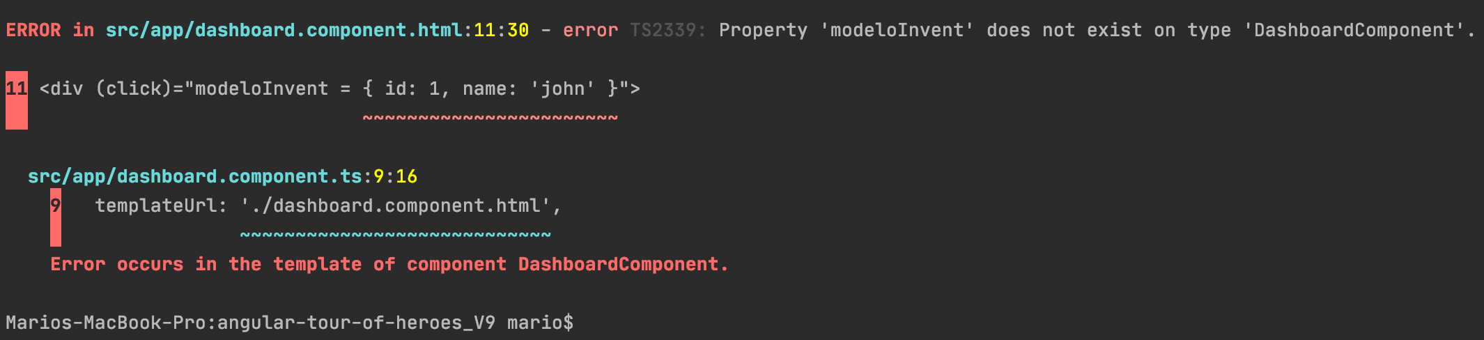 Compile_property_error