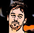Cartoonized from a basket player for Juan
