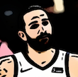Cartoonized from a basket player for Borja